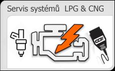 Servis a diagnostika LPG a CNG systémů