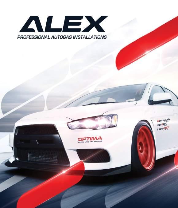 Autogas Alex - profesionální systémy LPG a CNG pro přestavby vozidel