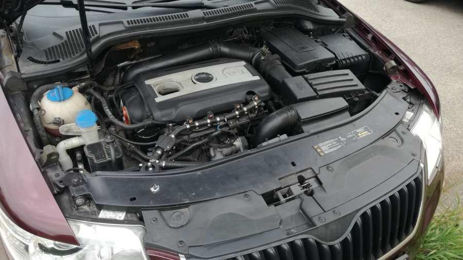 Škoda Superb 1.8 TSI na LPG